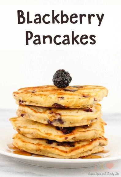 blackberry pancakes recipe