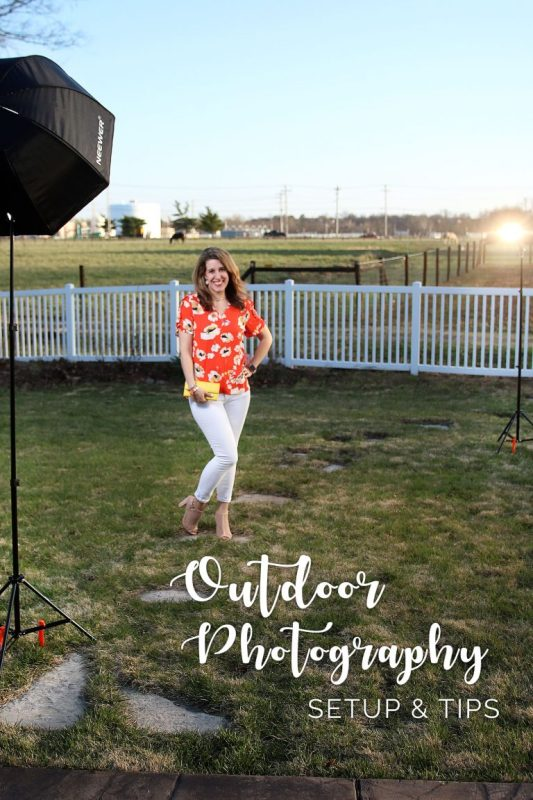outdoor fashion photo tips
