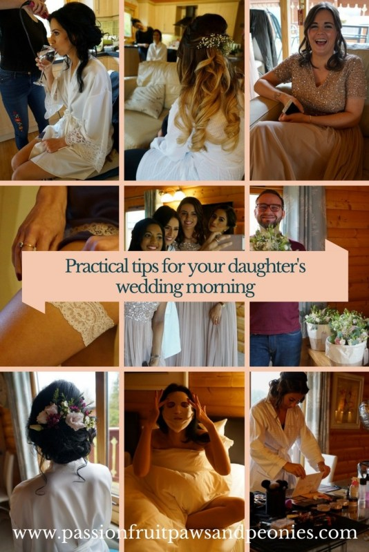 practical tips for the brides wedding morning
