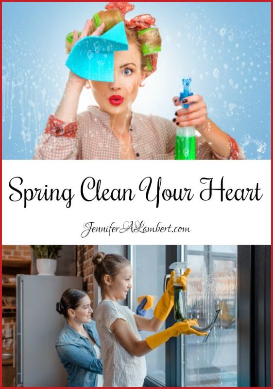 jennifer lambert spring clean your heart