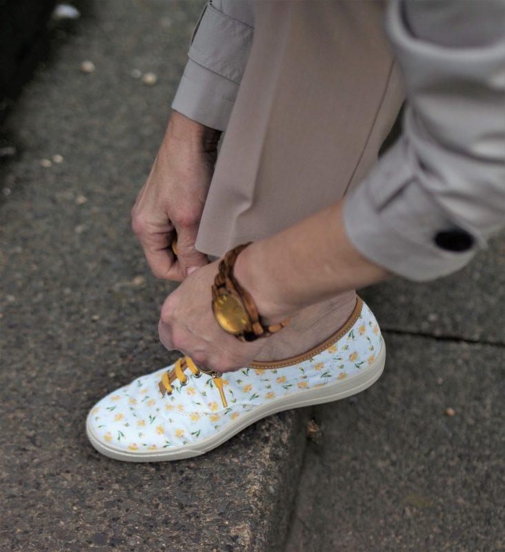 daffodil sneakers