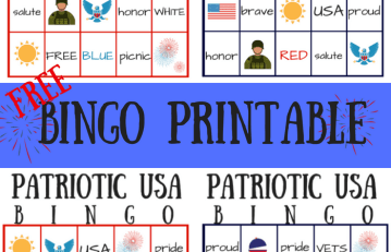 memorial day bingo game