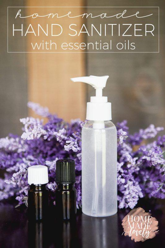 diy lavender hand sanitizer