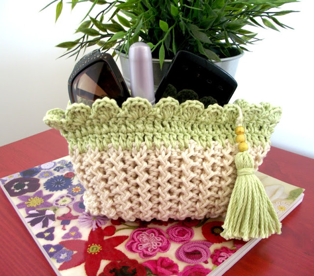 crochet pattern for clutch purse