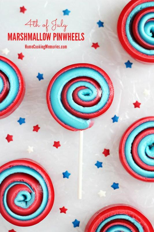 marshmallow pinwheels recipe