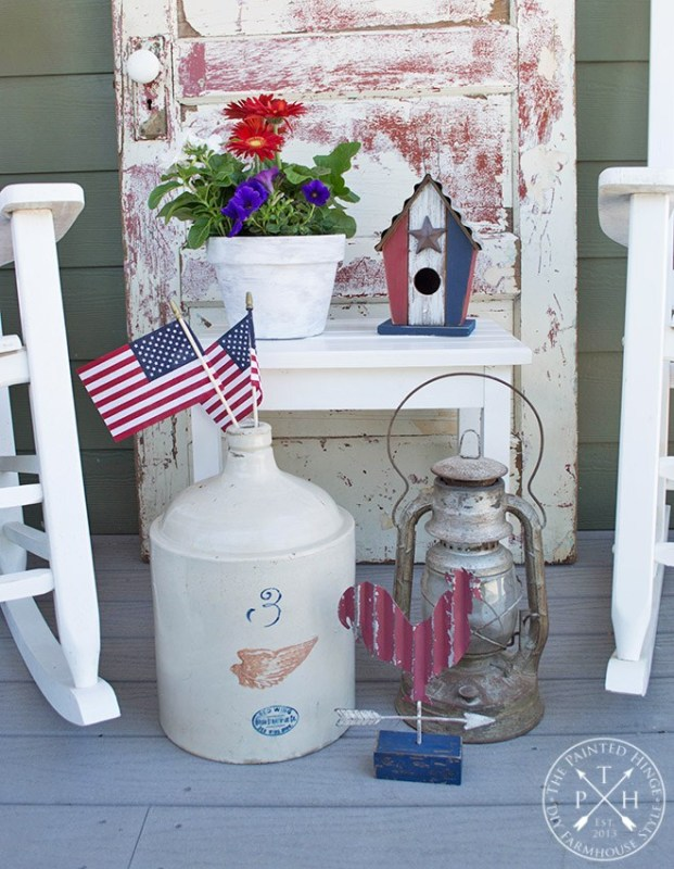 patriotic farmhouse Americana style