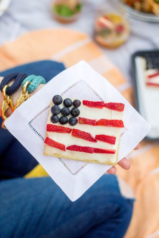 Patriotic themed recipes