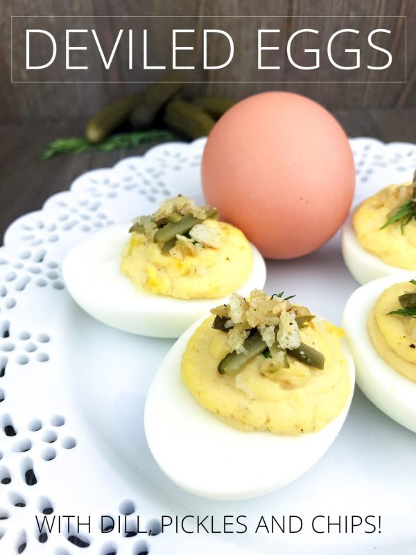 non traditional deviled eggs