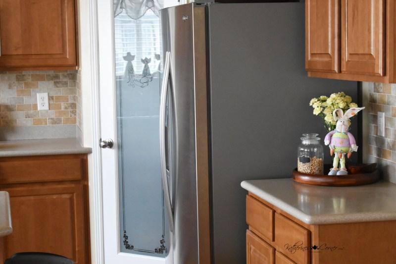new pantry door