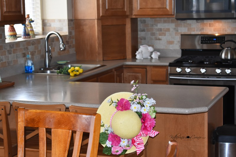 diy kitchen backsplash after