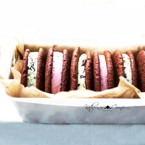 red velvet cake cookies for ice cream sandwiches