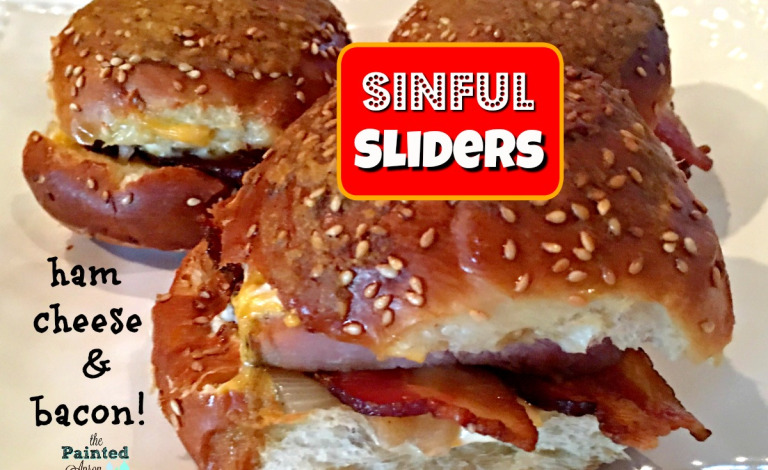 simple ham and cheese sliders