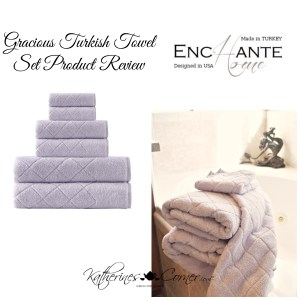 Enchante Home Gracious Towel Set Product Review