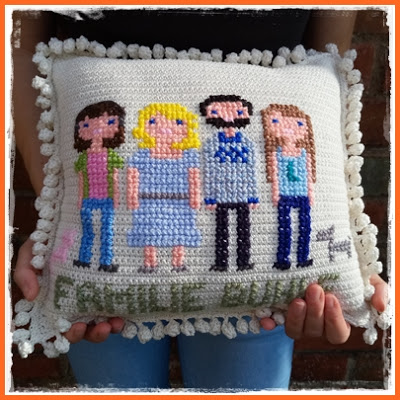 free family pillow pattern