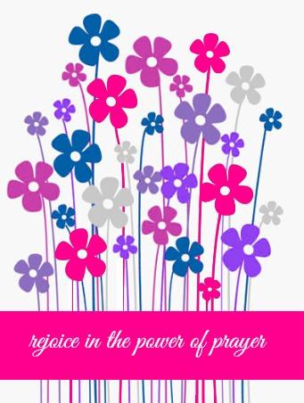 rejoice in the power of prayer free printable