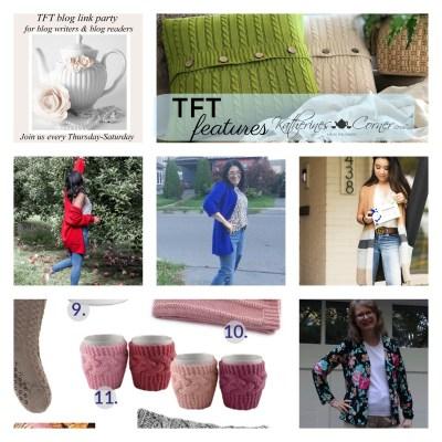 Cardigan Sweater Cardi TFT Blog Link Party