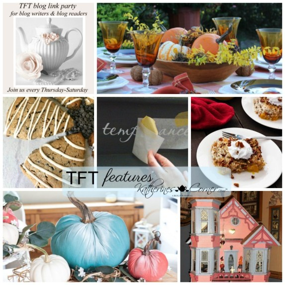 by the numbers TFT blog link party features