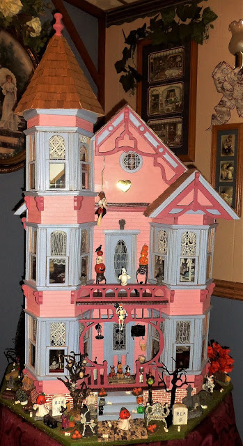 victorian haunted house