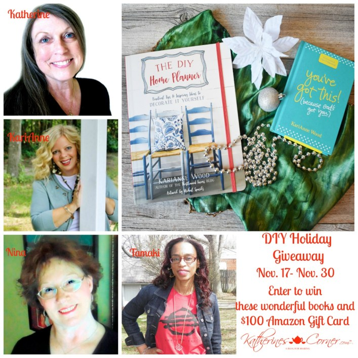 diy holiday giveaway hostesses