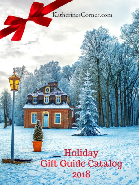 katherines corner holiday gift guide and catalog cover