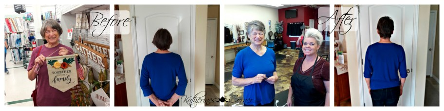 mature womans hair makeover