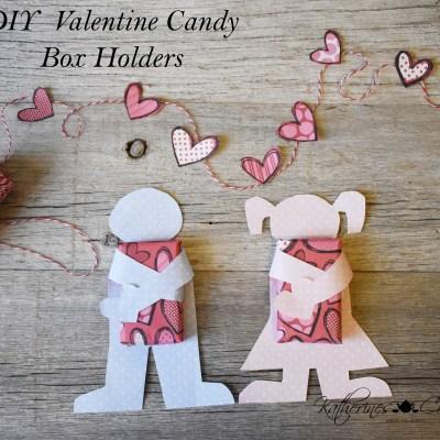 diy valentine candy box holders