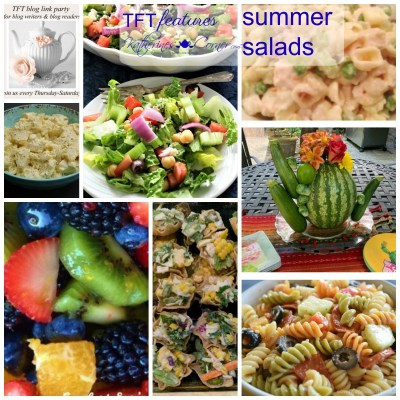 summer salads TFT link party features
