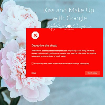 kiss and make up with google what to do if your blog or online shopis flagged