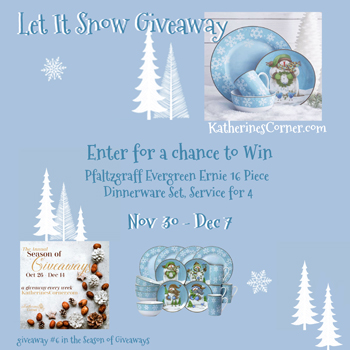 Let it Snow Giveaway at Katherines Corner