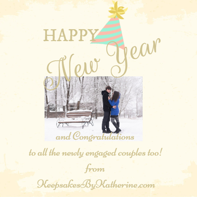 happy couple in snow katherines corner
