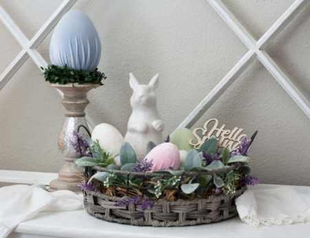 velvet easter eggs