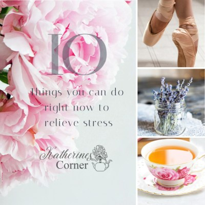 a ;list of 10 things you can do to relieve stress
