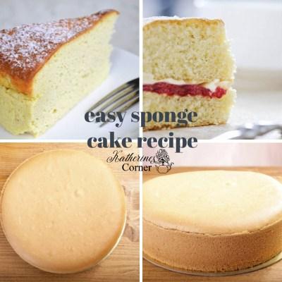 sponge cake katherines corner