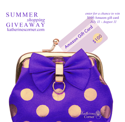 Summer Shopping Giveaway starts on July 11th !
