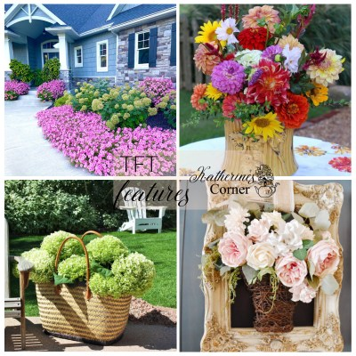 summer flowers and TFT blog hop