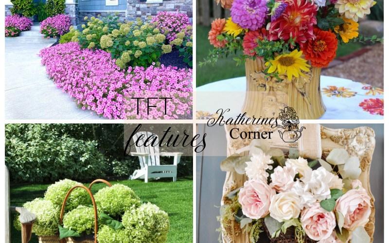 summer flowers and TFT blog hop