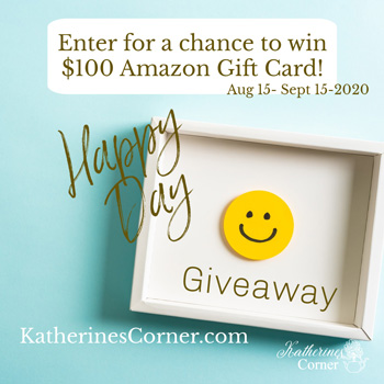 Happy Day Giveaway Starts August 15th!