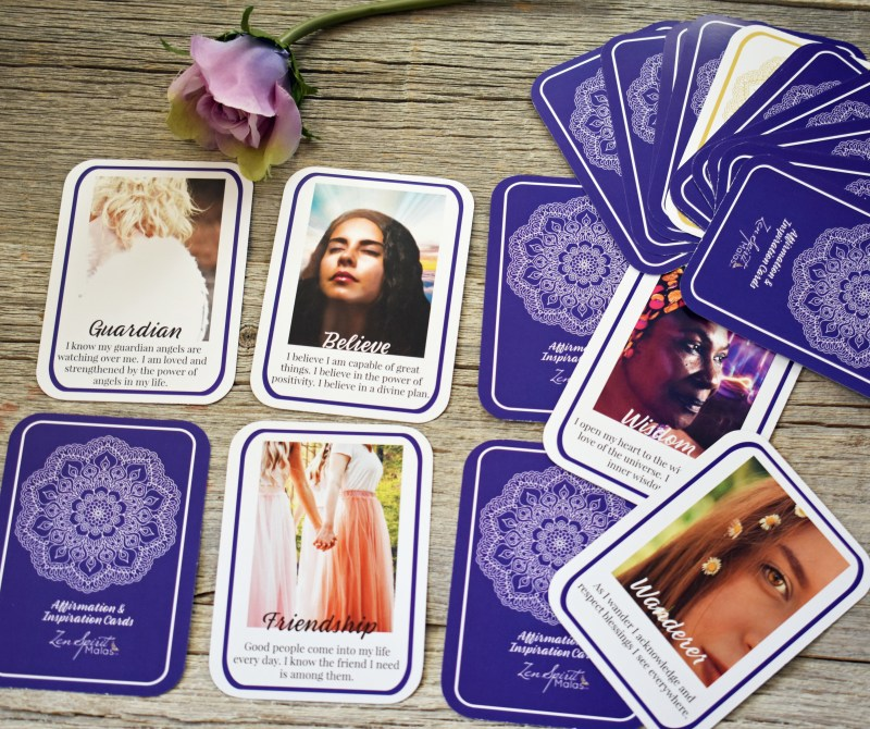 positive affirmations for women deck of cards