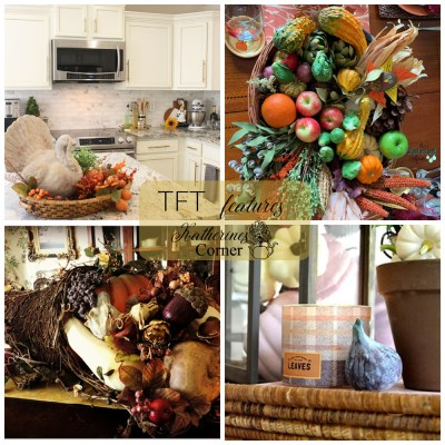 autumn home basket decor