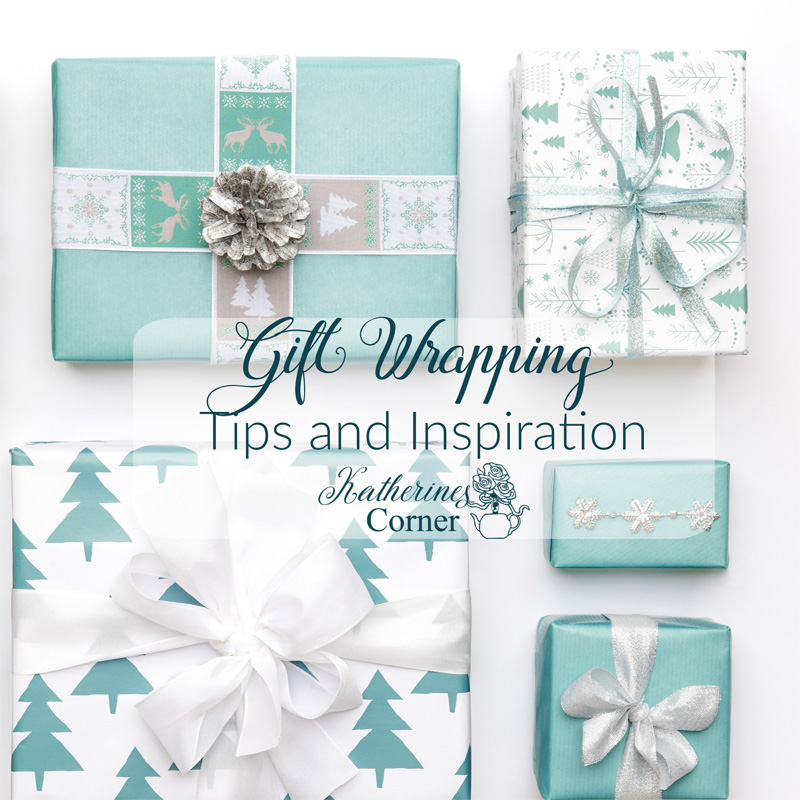 gift wrapping tips and inspiration from katherines corner