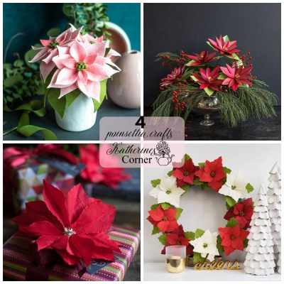 diy poinsettia crafts