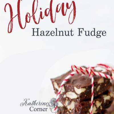 hazelnut fudge recipe