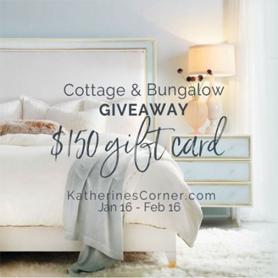 cottage and bungalow giveaway