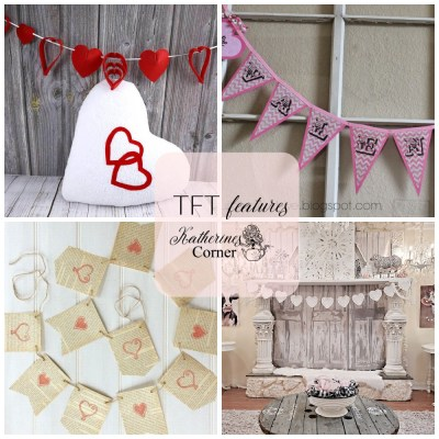 valentine buntings features