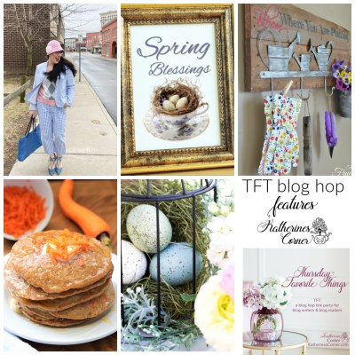 Spring Things and TFT blog hop