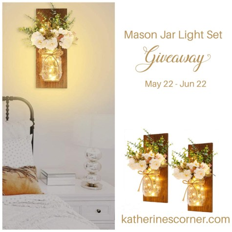 mason jar light set giveaway