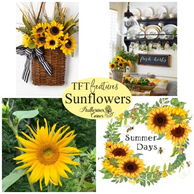 sunflowers and TFT blog hop