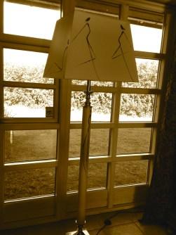 Silhouette Lamp - Katherine Scrivens Eje