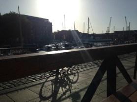 Early morning in Bristol 29th October