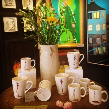 Display at Gallery Scrivens & Eje